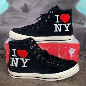 CONVERSE CTAS 70 HI I LOVE NY Black/Egret/Red MENS